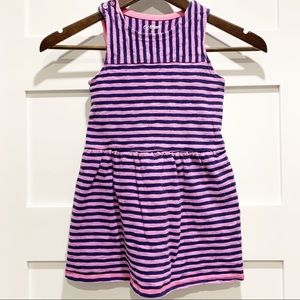 CAT & JACK Striped Halter Dress